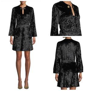💎NWT MICHAEL Michael Kors Black Velvet Dress